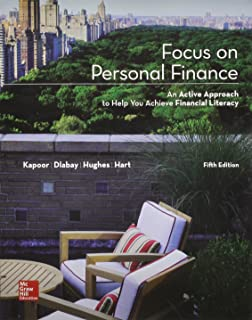 Focus on personal finance an active approach to help you develop focus on personal finance with connect access card with learnsmart fandeluxe Images