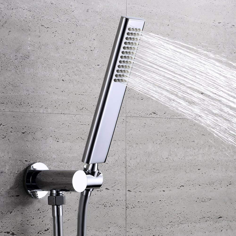 EMBATHER Brass dual-Function Spray Fixed Shower Head Handheld Shower Wand Combo by EMBATHER (Image #5)