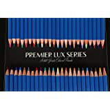 Bayland Premier Lux Series Colored Pencils (48 Count) for Adults/Artists/Kids. Unique Colors. Drawing, Sketching, Adult Coloring Books, Arts/Crafts. Pre-Sharpened.