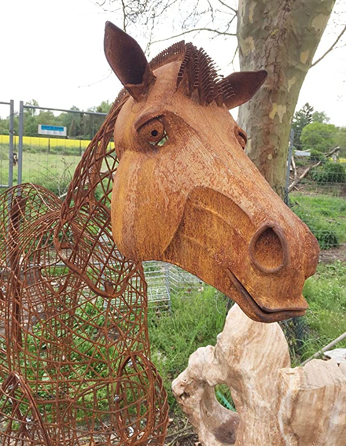 Caballo 3d lebensgroß XXL 180 x 205 cm caballo semental ...
