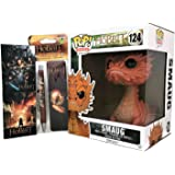 """Smaug 6"""" by Funko Bundled w/ The Hobbit Pen, Bookmark & 2 Magnets"""