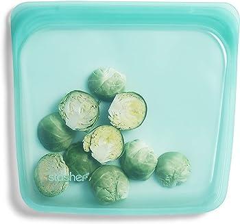 Stasher Silicone Food-grade Reusable Sandwich Bag