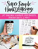 Super Simple Hand Lettering: 20 Traceable...