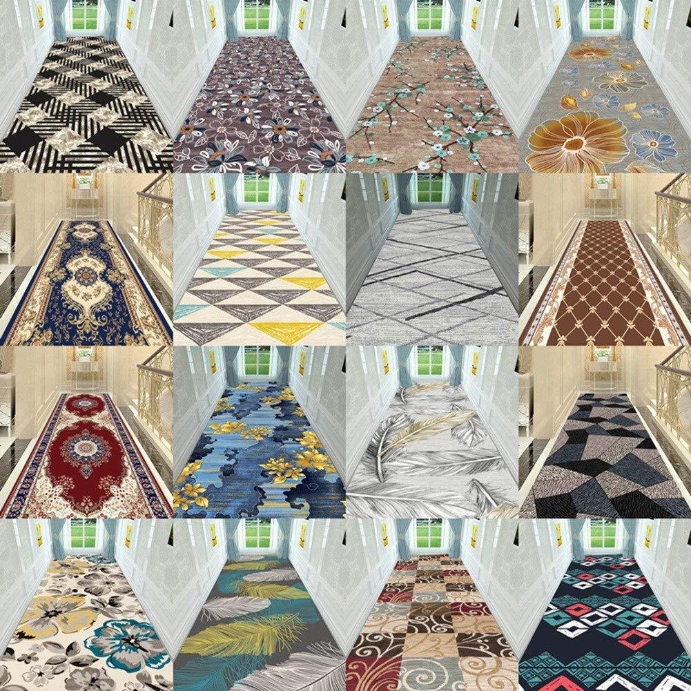Formale Color : Multi-Colored, Size : 60x100cm Antiscivolo Tappeti Tagliabile Ingresso Stuoia for Hotel Sala Cucina Dirt Stopper HAIPENG Extra Lungo Tappeto Corridoio Passatoia