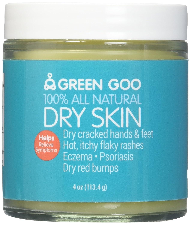 Green Goo All-Natural Skin Care (Jar & Large Tin) (Dry Skin, Jar)