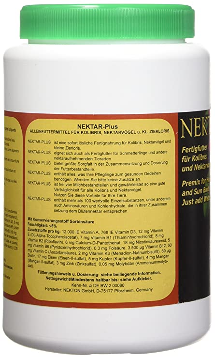 Amazon.com : NEKTON Nectar Feeders for Birds, Holds Up to 40ml : Pet Food : Pet Supplies