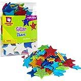 Creative Hands Glitter Foam Stickers, Stars