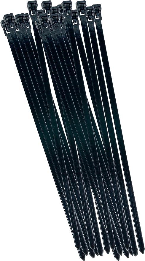 20x Kabelbinderset Weiß 530 x 7,6mm Nylon Kabelbinder Binder