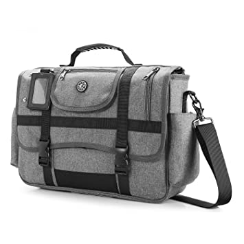 95c3fadf96de Image Unavailable. Image not available for. Color  CoolBELL 15.6 Inch  Laptop Shoulder Bag Messenger Bag Case Sport Handbag ...