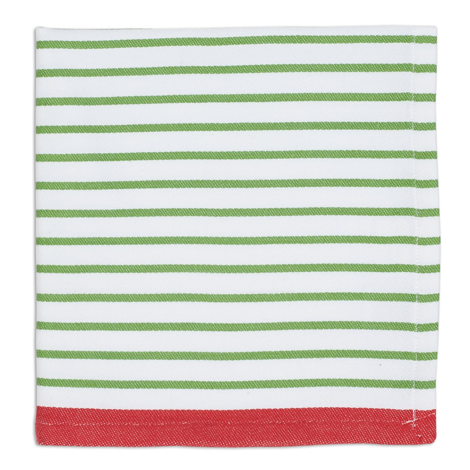 DII Oversized 20x20'' Cotton Napkin, Pack of 6, Pine Needle Stripe - Perfect for Fall, Thanksgiving, Dinner Parties, Farmhouse Décor, Christmas or Everyday Use