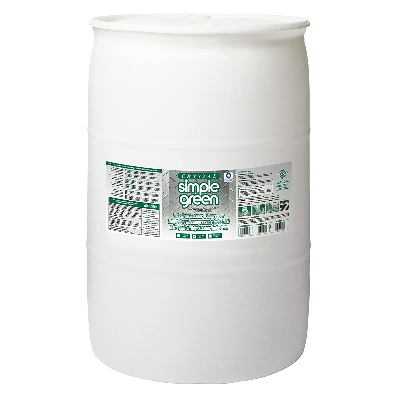 Simple Green 19055 Crystal Industrial Cleaner/Degreaser, 55gal Drum