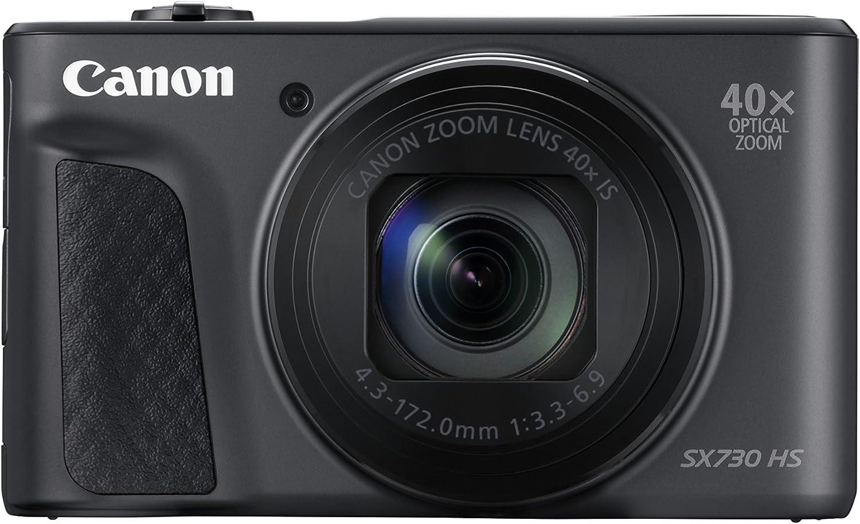 Canon Powershot SX730 HS - Cámara de Fotos (20,3 MP), Color Negro