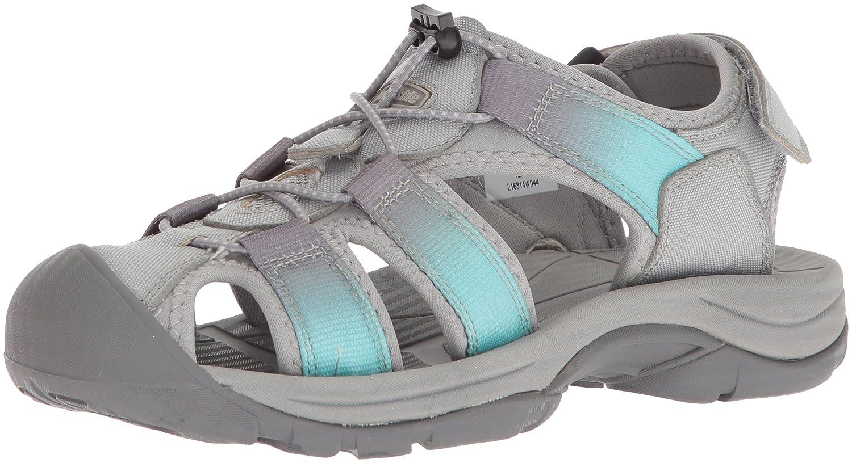 Northside Women's Trinidad Sport Sandal B0735HJX31 Size 10 M US|Gray/Aqua