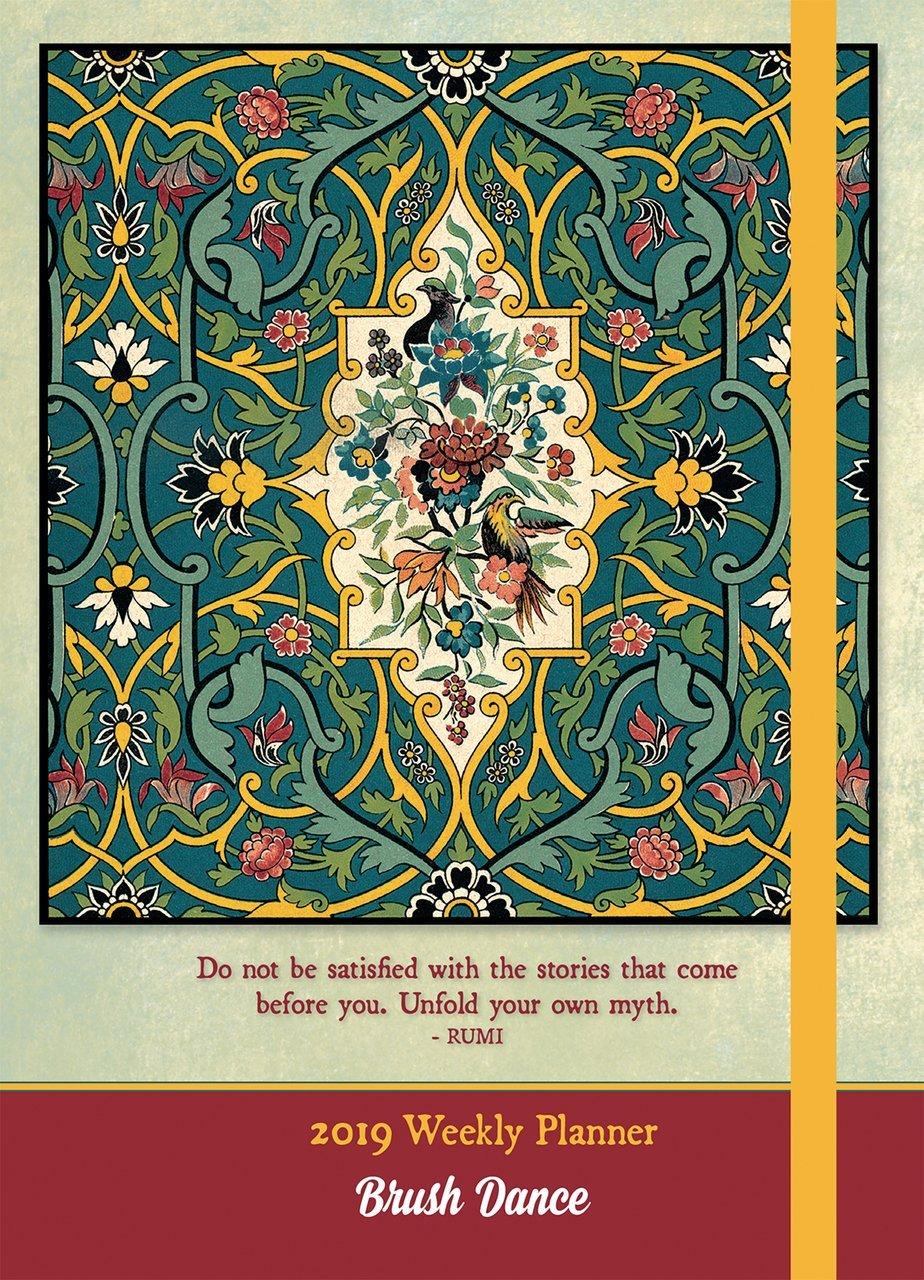 Amazon Enlightened Rumi 2019weekly Planner 9781610467414 Inc