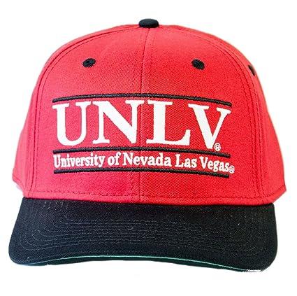 673849469 The Game University of Nevada Las Vegas UNLV Rebels Snapback Cap Hat (Red)