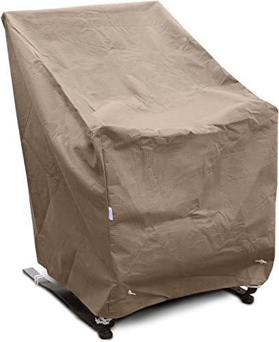 KoverRoos III 39812 High Back Lounge Chair Cover, 32-Inch Width by 33-Inch Diameter by 40-Inch Height, Taupe