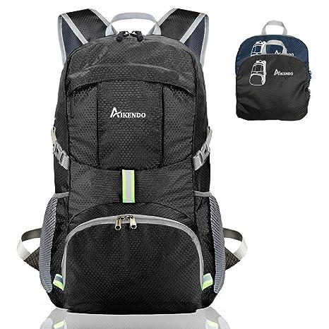 ea1874ec0c6f AIKENDO 35L Lightweight Packable Backpack, Durable Travel Hiking  Daypack,Foldable Camping Backpack, Ultra Light Outdoor Sport Backpack for  Women Men