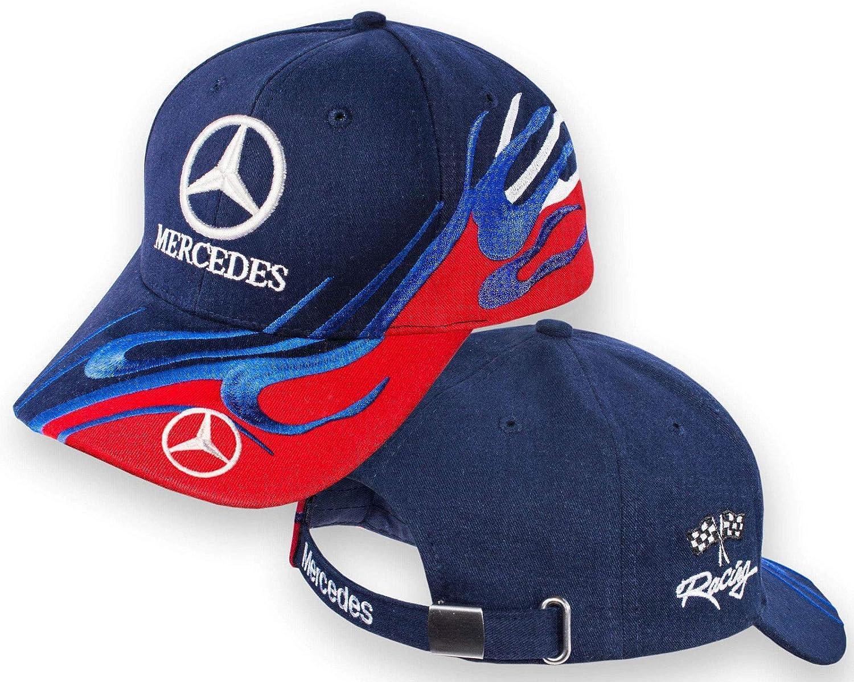 Gorra Mercedes-Benz, gorra multicolor con el logotipo bordado de ...