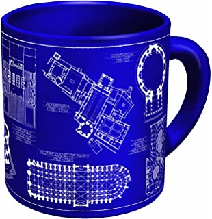 Mco architect gift blueprint paperweight amazon office products architecture coffee mug architectural drawings of famous buildings from classic to classical comes malvernweather Images