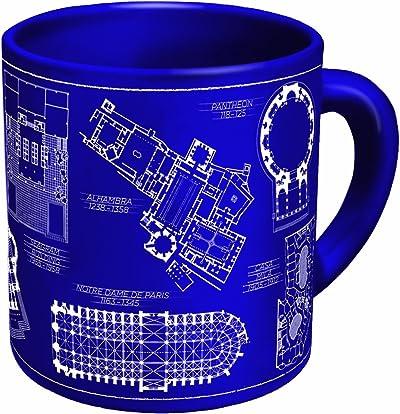 The Unemployed Philosophers Guild Architecture Coffee Mug
