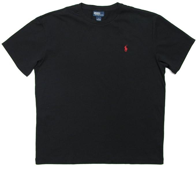 Ralph Lauren para Hombre Polo T-Shirt - Corte clásico - Negro ...