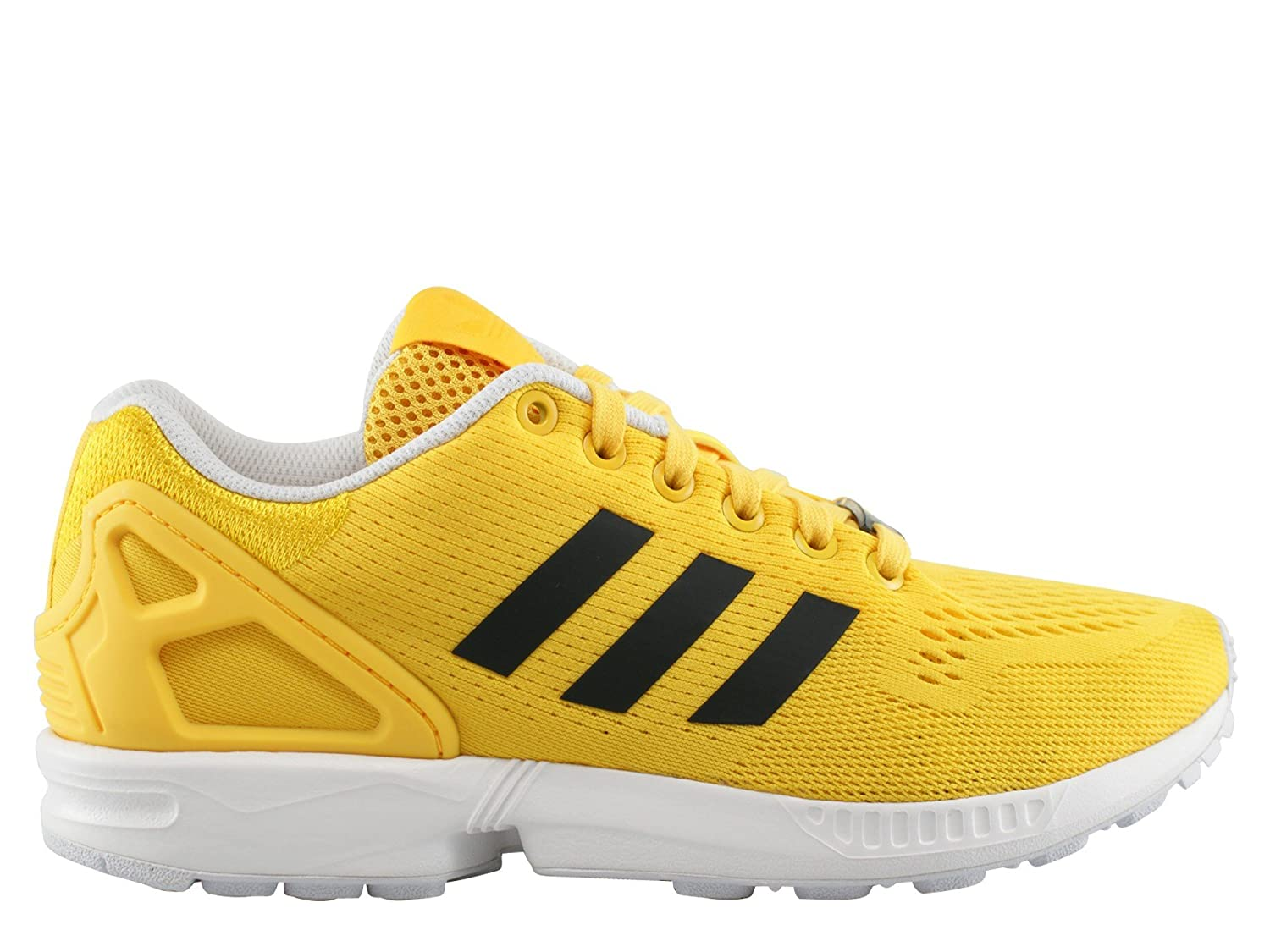 48850b840 ... canada adidas zx flux color black white yellow size 4.5 amazon shoes  bags 33133 48cf9