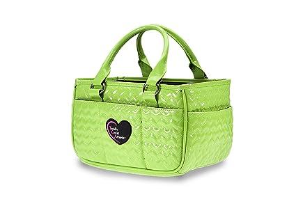 Amazon.com: TGA Corazón Verde de neón Patinaje sobre hielo ...