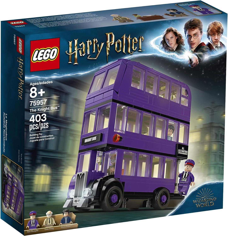 Lego Harry Potterand The Prisoner Of Azkabanknight Bus75957 Building Kit 403 Piece Toys Games Amazon Canada