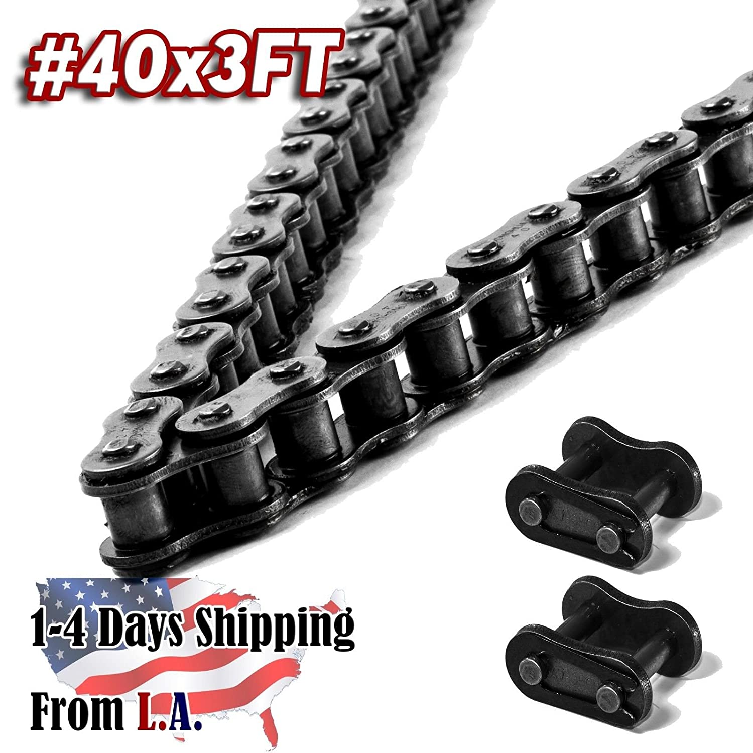 Standard Clip Connecting Master Links for 60 Chain Qty 4