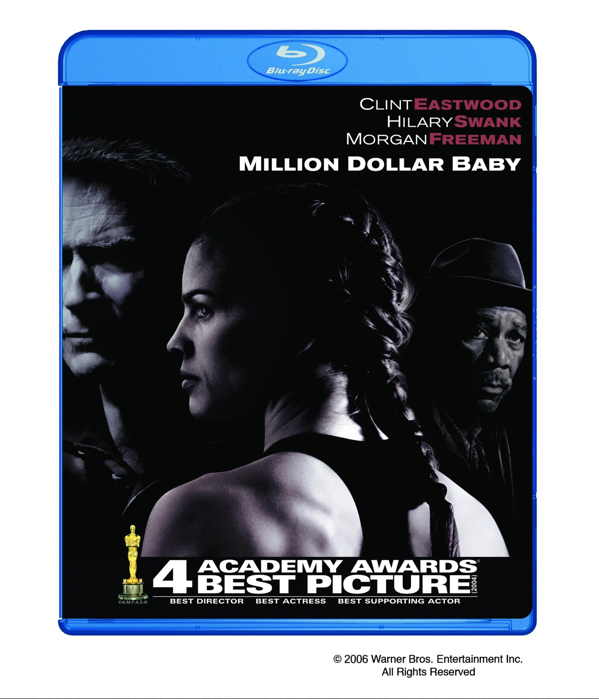 Blu-ray : Million Dollar Baby (Subtitled, Dubbed, Dolby, AC-3, Widescreen)