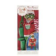 Elf on The Shelf Claus Couture Scout Elf Super Hero Winter Set, Red/Green