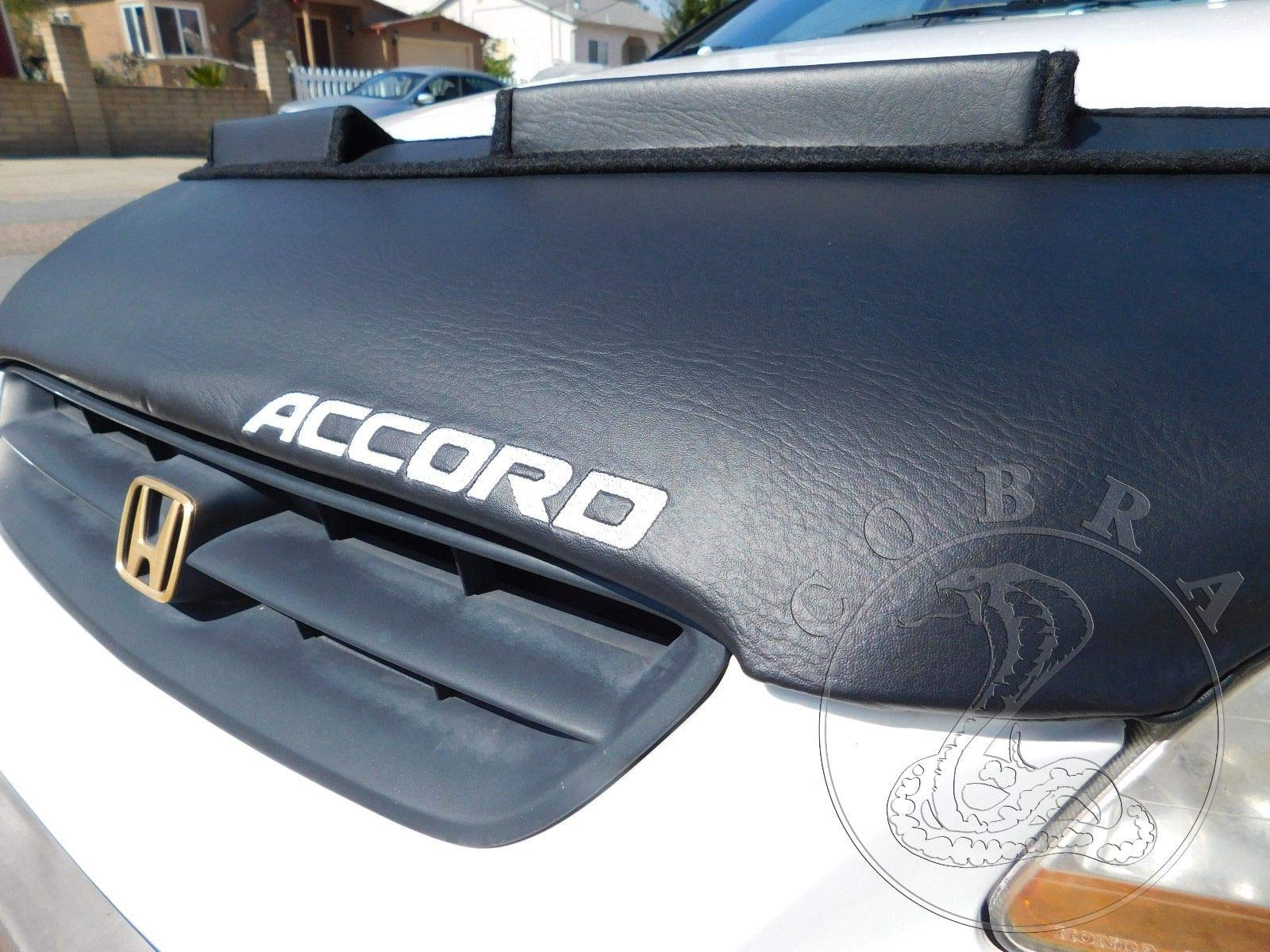 Cobra Auto Accessories Car Bonnet Hood Bra + Accord Logo Fits Honda Accord 98 99 2000 01 02 Sedan Coupe