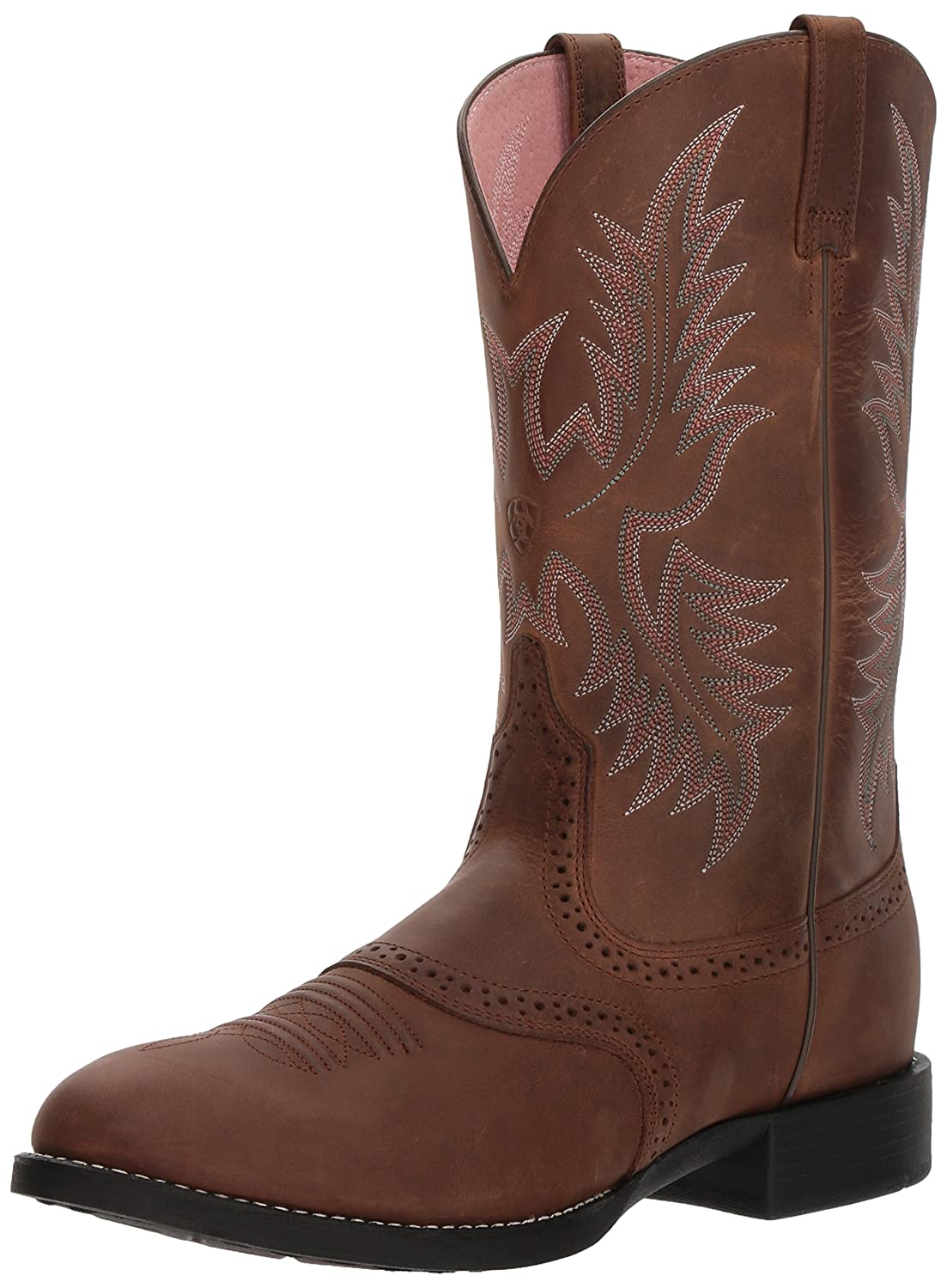 Ariat Men's Heritage Stockman Western Boot B000JG1W0C 9 B(M) US|Driftwood Brown/Driftwood Brown