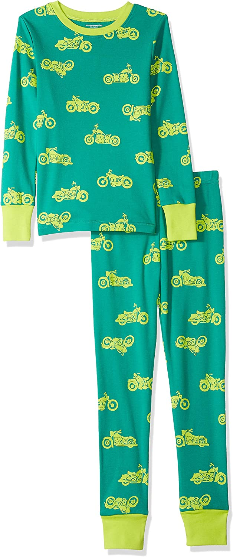 Essentials Long-Sleeve Tight-Fit 2-Piece Pajama Set Bambina
