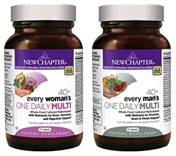 New Chapter Supplement Bundle (2 Items) – Every Womans One Daily Multi 40-