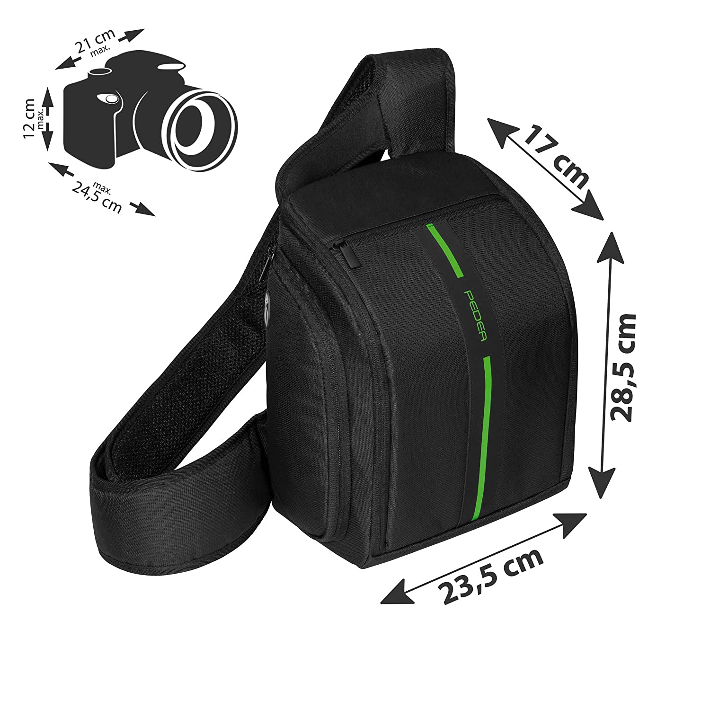 Pedea SET012-65060304-0000 - Funda para cámara Reflex, Color Negro ...