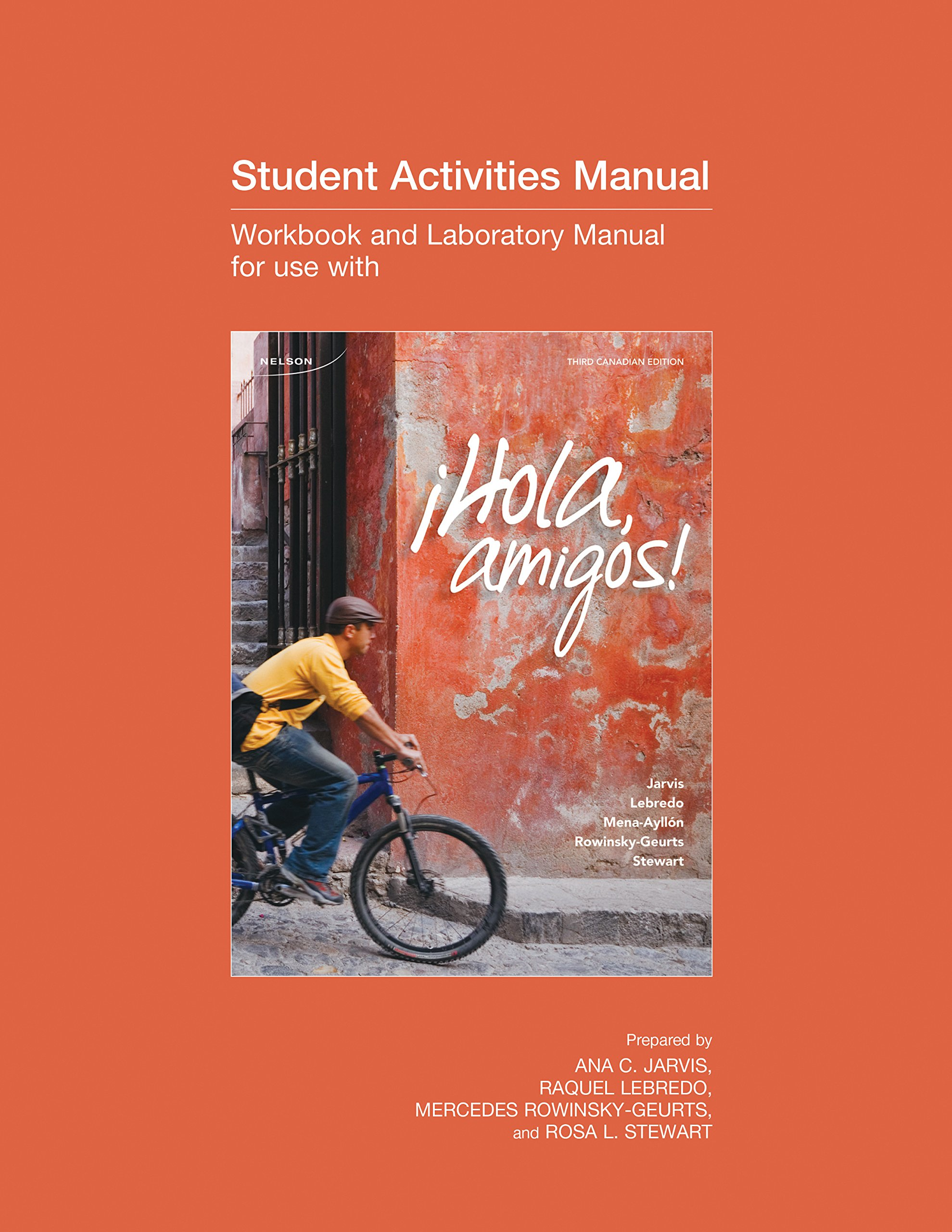 student activity manual to accompany hola amigos 3ce ana jarvis rh amazon  ca Biology Study Guide Answers Night Study Guide Key Questions