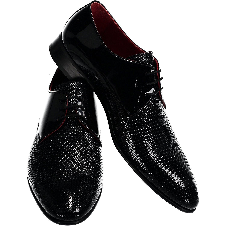 Sarar Men's Shoes Dress Oxford Genuine Sole Leather Business Suit Dress Shoes Black Burgundy Brown Navy