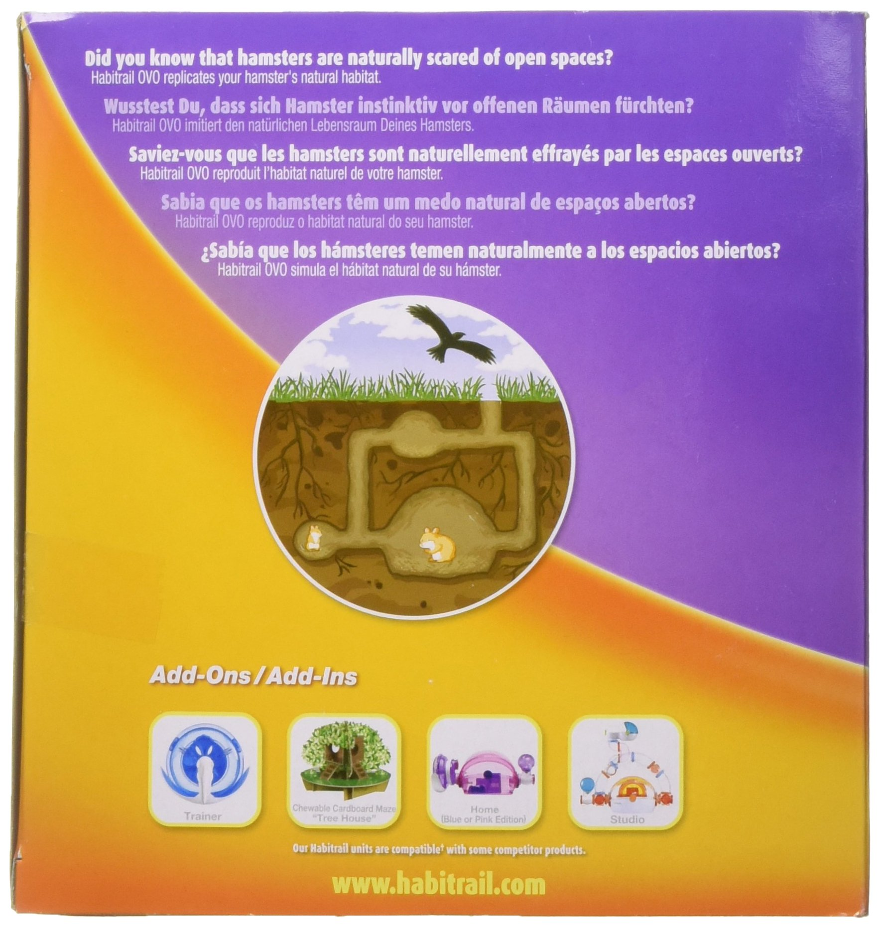 Habitrail OVO Adventure Pack, Small Animal Habitat, Hamster Accessories by Habitrail