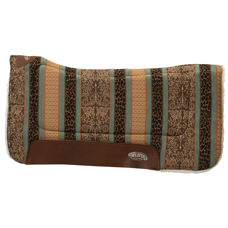 Weaver Leather 35–9307–H20 多目的輪郭サドルパッド サファリスピリットターコイズ   B07N6YVFGW