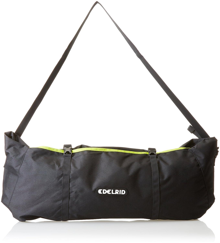 EDELRID 721120002190 Liner - Bolsa para cuerda de escalada (37.6 x 30.8 x 3 cm), color gris y verde