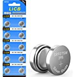 LiCB 10 Pack 395 SR927SW 399 Watch Battery,Long-Lasting & Leak-Proof,High Capacity Silver Oxide 1.55V Button Cell…