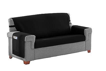 Martina Home Cubre sofá/Salvasofa Modelo Betta Color Negro ...