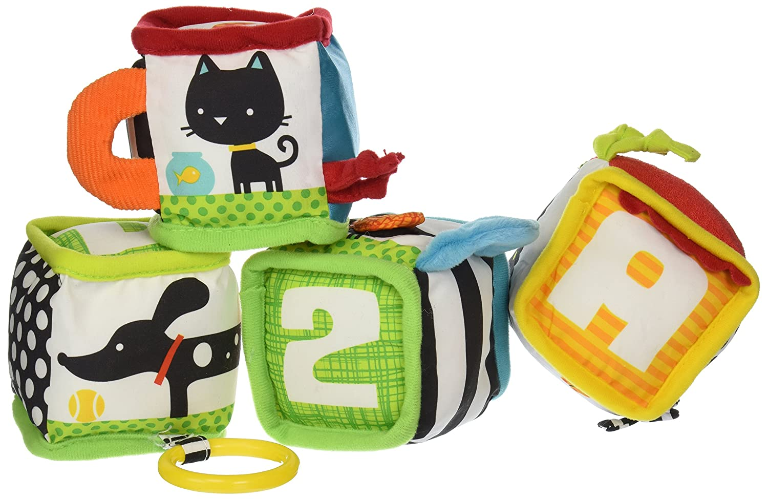 Infantino Discover and Play Soft Blocks Development Toy