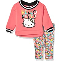 Hello Kitty Baby Girls 2 Piece Sweatshirt and Pant Legging Set