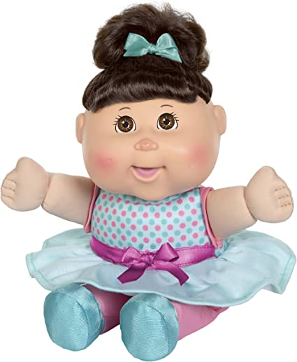 Cabbage Patch Kids Deluxe Babble N Sing Toddler In Blue Fashion 11 Squeeze Hand Doll Babbles Giggles Sings 9 Sing Along Songs Classic 1998 Cpk Dolls Toys Games Amazon Canada