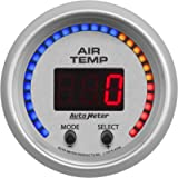 AUTO METER 4358 Gauge Air Temperature (Ultra-Lite Dual, 2 1/16', 0-300ºf, Digital, Ultra-Lite)