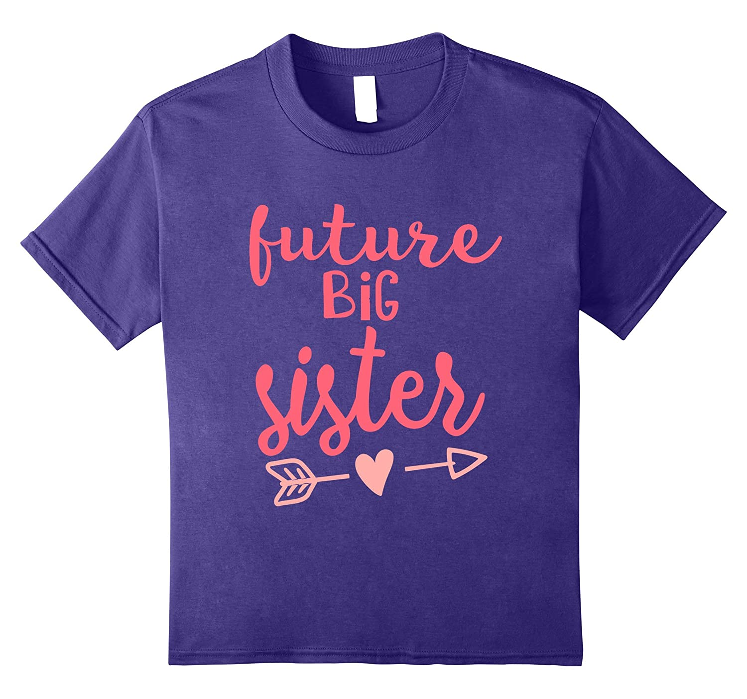 Amazon Com Future Big Sister Pregnancy Announcement Shirt For