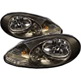 headlightsdepot compatible with mercury sable headlights oe style  replacement headlamps driver/passenger pair