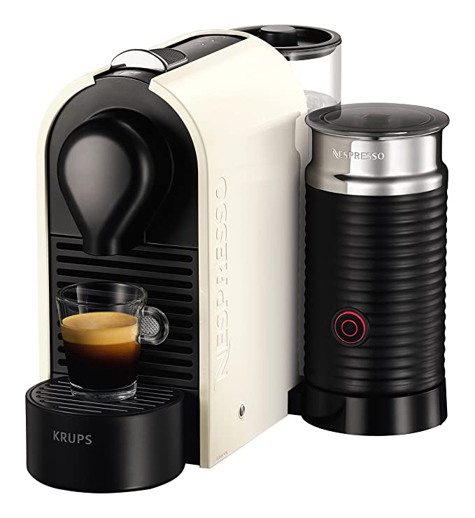 Krups Nespresso U & Milk Independiente Máquina espresso 0,7 ...